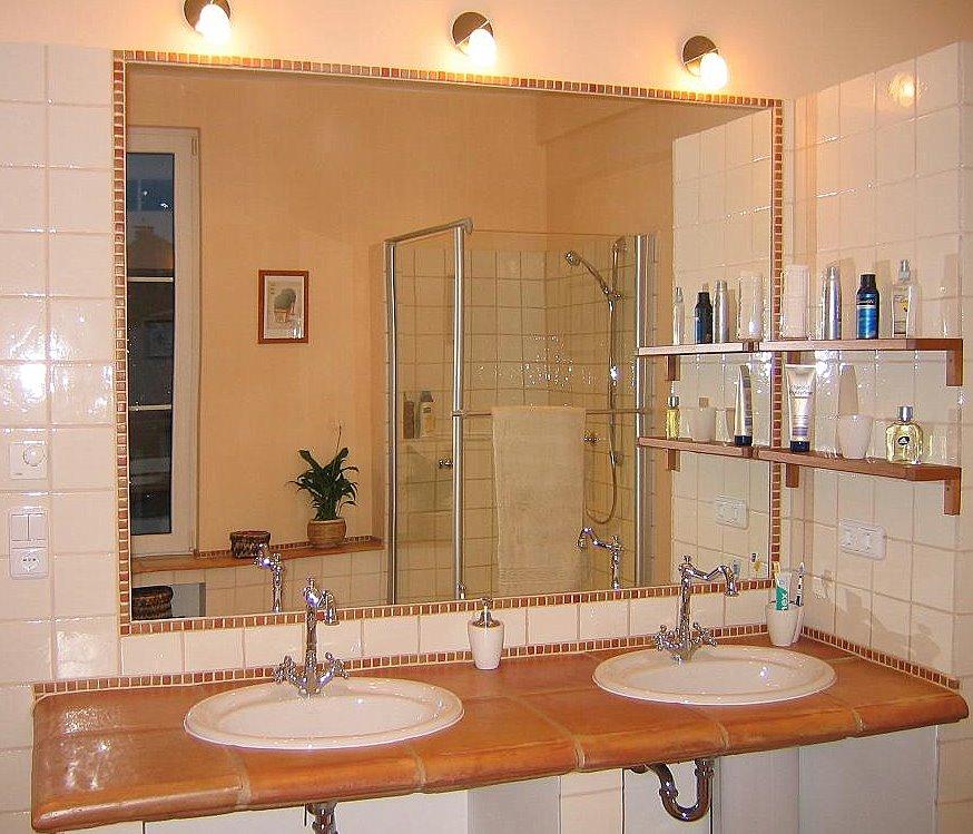 25 terracotta badezimmer bilder badmobel design welche. Black Bedroom Furniture Sets. Home Design Ideas