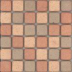 Elda TriColor Mosaik 4,6x4,6 cm